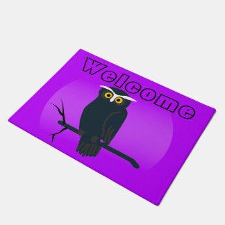 Dark Owl Doormat