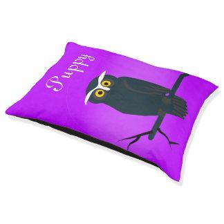 Dark Owl Pet Bed