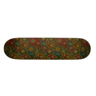 Dark Paisley Skate Board Deck
