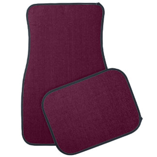 DARK PANSY PURPLE (solid color) ~ Car Mat