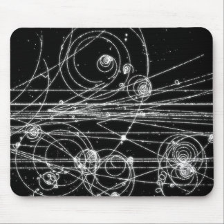 Dark particles mouse pad