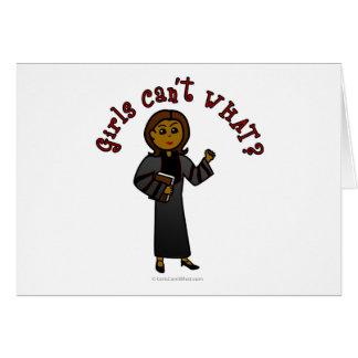 Dark Pastor Girl Cards