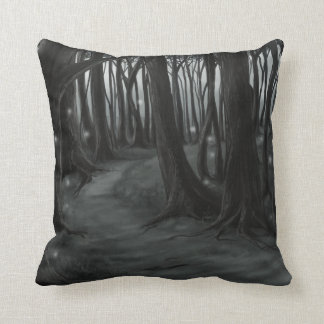 Dark Path Pillow