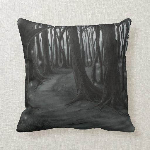 Dark Path Pillow