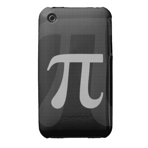Dark Pi iPhone 3 Cover