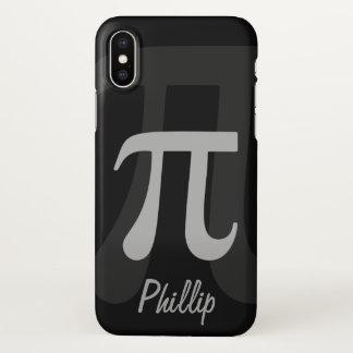 Dark Pi Name Template iPhone X Case