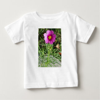 Dark pink Cosmos daisy flower Baby T-Shirt