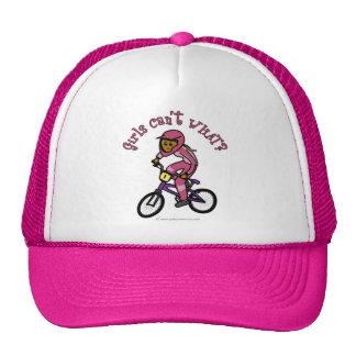 Dark Pink Girls BMX Cap