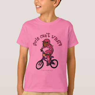 Dark Pink Girls BMX T-Shirt
