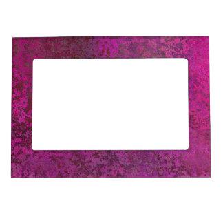 Dark Pink Magnetic Frame