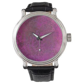 Dark Pink Watch