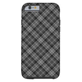 Dark Plaid Tough iPhone 6 Case