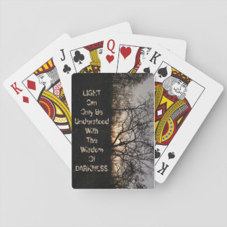Dark Playing Card