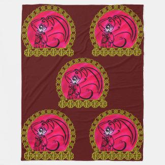 Dark Prince Fleece Blanket