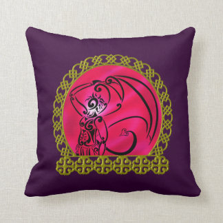 Dark Prince Throw Pillow Throw Cushions