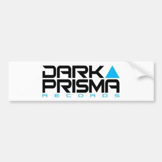 Dark Prisma White Sticker Bumper Sticker
