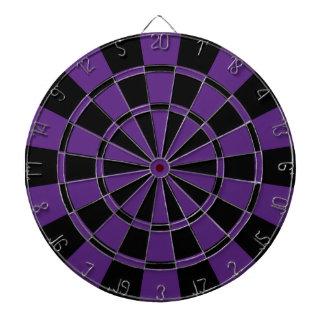 Dark Purple And Black Dartboard