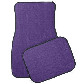 """Dark Purple"" Car Mat"