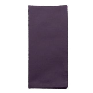 Dark Purple Cloth Napkins