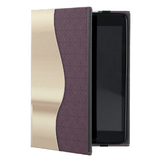 Dark Purple Goldish iPad Mini Cover