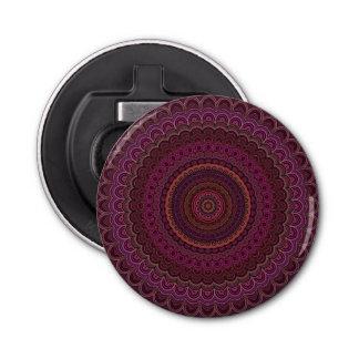 Dark purple mandala bottle opener