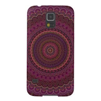 Dark purple mandala cases for galaxy s5