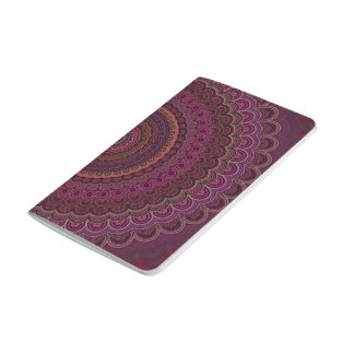 Dark purple mandala journal