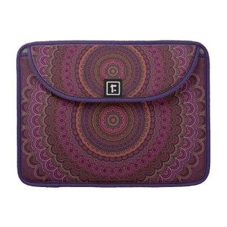 Dark purple mandala sleeve for MacBook pro