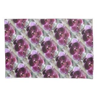 Dark Purple Moth Orchids Pillowcase