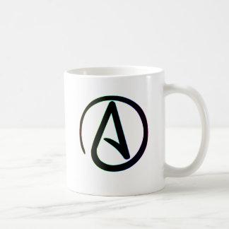 Dark Rainbow Atheist Coffee Mug