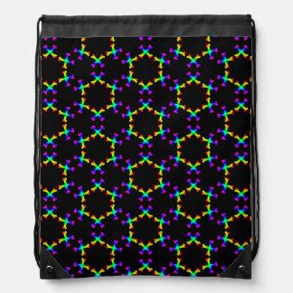 Dark Rainbow Crossbones backpack