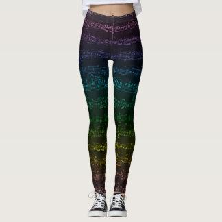Dark Rainbow Leggings
