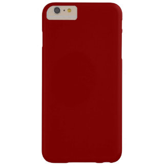 Dark Red Barely There iPhone 6 Plus Case