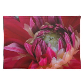 dark red blossom placemats