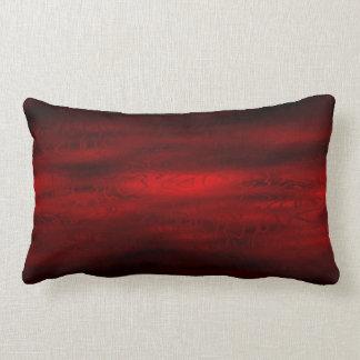 Dark Red Dreams Lumbar Cushion