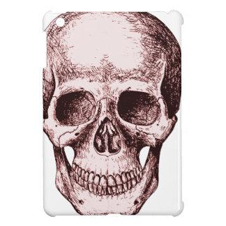 Dark Red Human skull Case For The iPad Mini