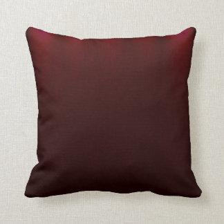 Dark red light abstract art cushion