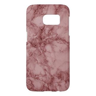 Dark Red Marble Design
