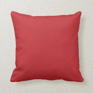 Dark red plain beautiful luxury cushion pillow