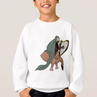 Dark Rider Playing Harp Sweatshirt