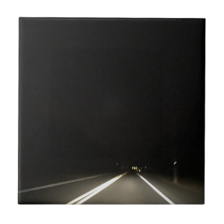 Dark roads and Night time adventures Tile