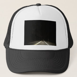 Dark roads and Night time adventures Trucker Hat
