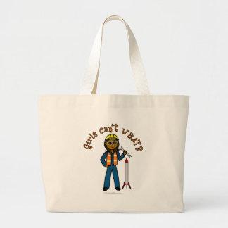 Dark Rocket Scientist Girl Bag
