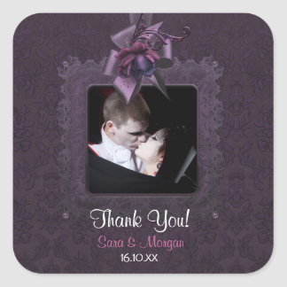 Dark Romance Square Sticker