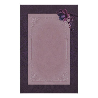 Dark Romance Stationery
