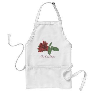 Dark Rose Florist Apron