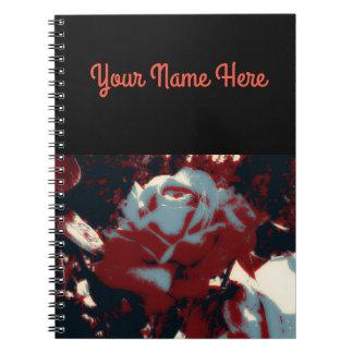 Dark Rose Notebook