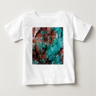 Dark Rust & Teal Quartz Baby T-Shirt