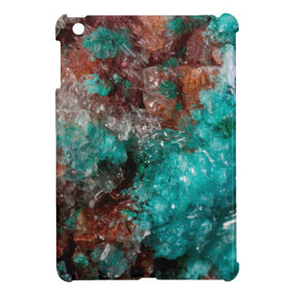Dark Rust & Teal Quartz Cover For The iPad Mini