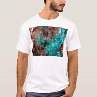 Dark Rust & Teal Quartz T-Shirt